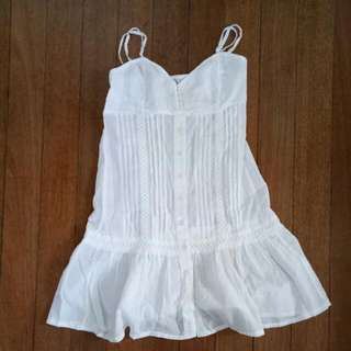 White Dress Coverup