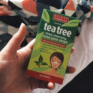 Tea Tree Nose Strips