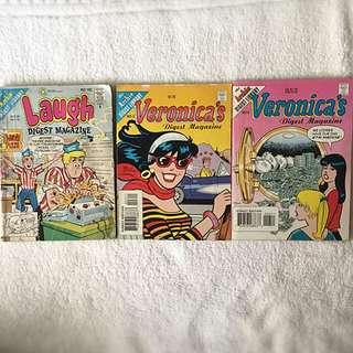 Archie Comics (Laugh and Veronica's Digest)
