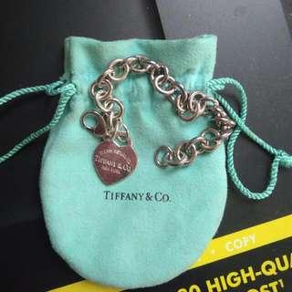 Return To Tiffany & Co Heart Tag Bracelet