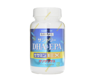 SUNTORY DHA EPA + Sesamin EX For 60 Days 240 Tablets