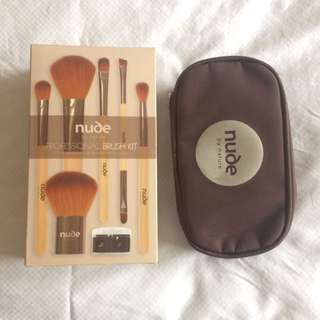 Nude By Nature Brush Kit