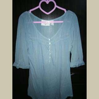 H&M Rolled up sleeves blouse