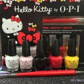 Hello Kitty OPI Nail Polish