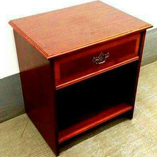 Nightstand Dark Finish