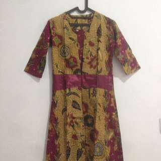 Blazer Panjang Batik