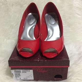 Deflex Red Heels