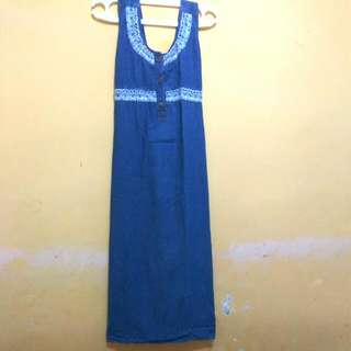RePrices Gamis Over All Jeans Wash