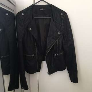 Dotti Black Leather Jacket