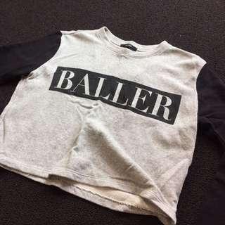 Vintage Forever 21 Baller Pullover