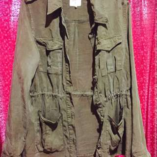 Army Green Cardy/Jacket