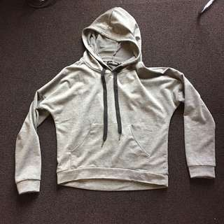 Grey Hoodie Pullover