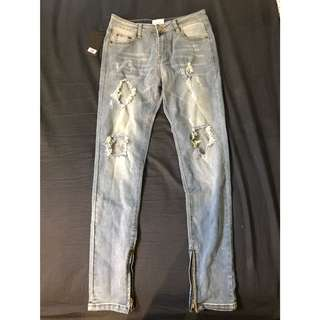 Denim Ripped Jeans (SIZE 30)