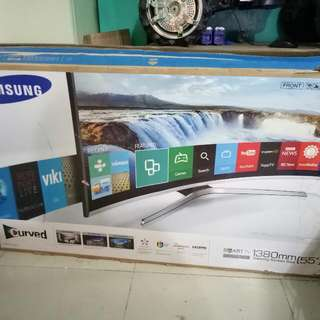 "55 "" Samsung Curved Smart Tv(UA55J6300)"