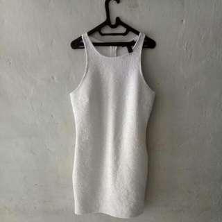 Forever 21 Mini Dress White