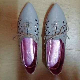 灰色女裝平底鞋 Grey Flats
