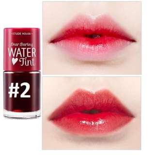 Etude Water Lip Tint - Cherry