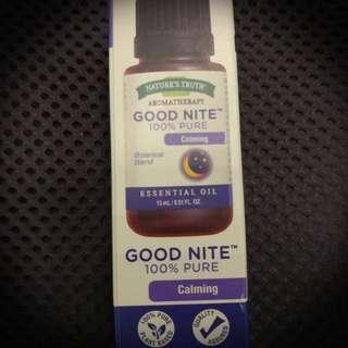 """全新 Nature's Truth """" Good Nite"""" 天然香氛油"""