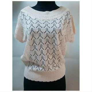 Peach Knit