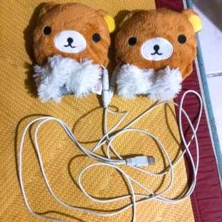 懶懶熊拉拉熊USB暖手療癒小物#畢業大出清