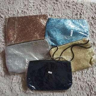 BN Sequined Crossbody Sling Bag