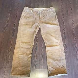 Rogan 美製舊化燈芯絨褲