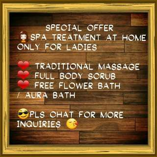 Body massage For Ladies Only