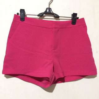 Hot Pink Short Pants