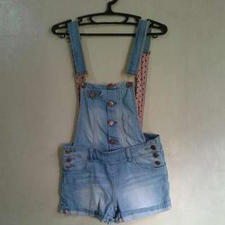 Denim Jumpshort