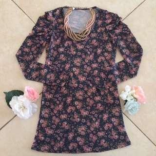 Bodyfit Floral Blouse