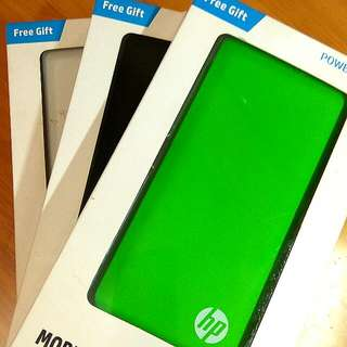 HP Power Bank 9000mAH 2x outputs 1A and 2.1A