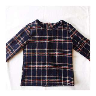 Unbranded Plaid Top