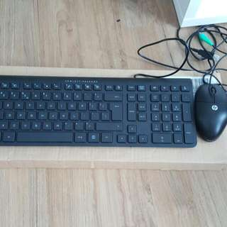 Keyboard And Mouse HP
