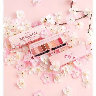 Etude House Play Color Cherry Blossoms Eye Shadow Palette