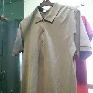 Uniqlo Olive Green Polo-Shirt
