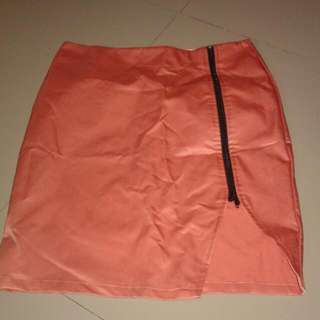 Folded And Hung Office Skirt