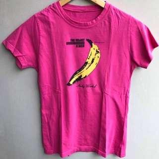 Andy Warhol Velvet Underground t shirt