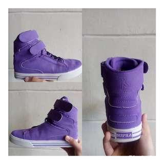 Supra shoes purple