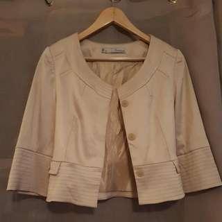 Basque Gold Jacket Size 8