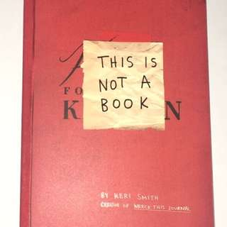 KERI SMITH (This Is Not A Book)