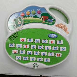 Leapfrog Letter Discoveries & Phonics (Free Shipping)
