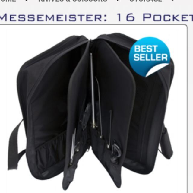 16 pockets Knife Bag