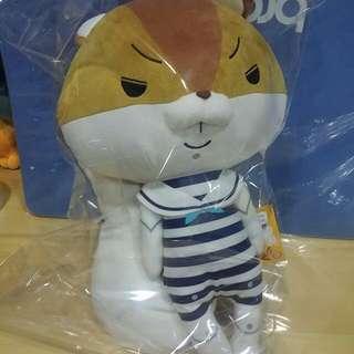 🚚 日本帶回 日正版 紙兔ROPE 羅佩 阿奇拉 松鼠 娃娃