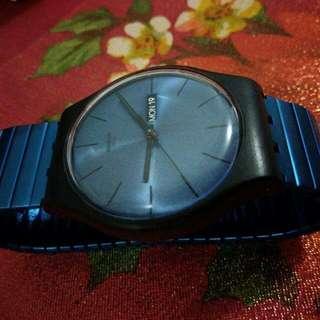 UNISEX Swatch Blue Resolution Large Watch