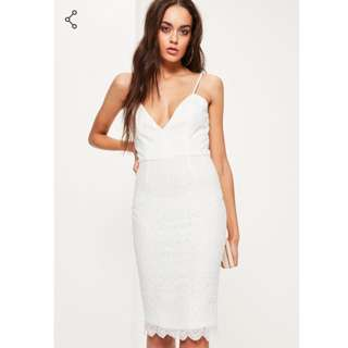**BN** Missguided strappy lace bodycon dress
