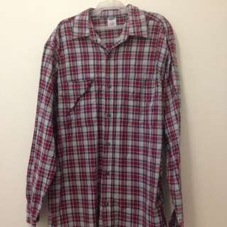 Old Navy Checkered Button Down Long Sleeves