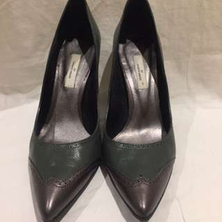 Malene Birger Vintage Leather Court Shoes