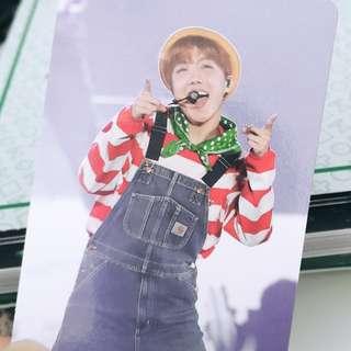 [WTT] J-HOPE 3RD MUSTER DVD OFFICIAL PHOTOCARD