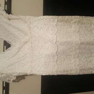 White Beautiful Dress