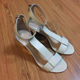 Jimmy Choo White Leather Sandals (Original-Authentic)
